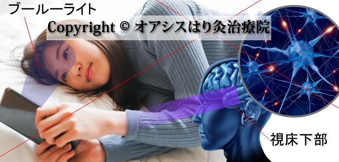 ブルーライトと概日リズム